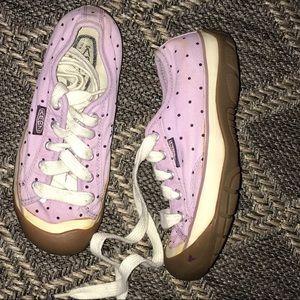 KEEN Purple Dot Gum Shoe Sneakers